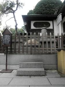 道後温泉パワースポット「玉の石」