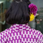 マドンナさんのアレンジヘア―