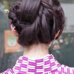 マドンナさんのアレンジヘアー