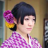 媛さんぽ マドンナ アレンジヘアー