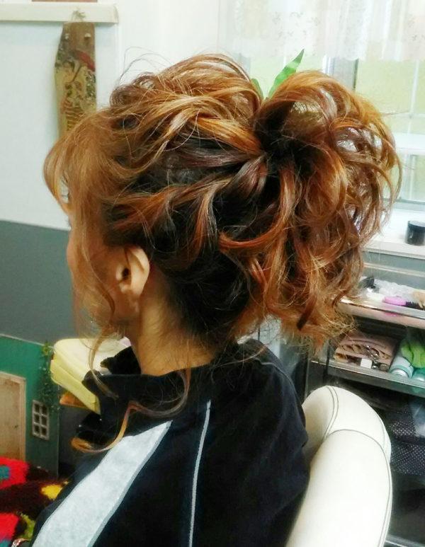 しっかりアレンジヘアセット(8)