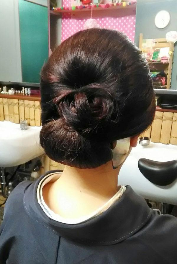 しっかりアレンジヘアセット(4)