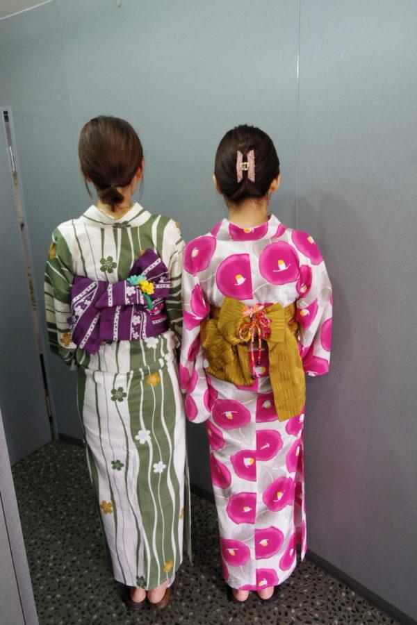 浴衣 レンタル着付の例(3)