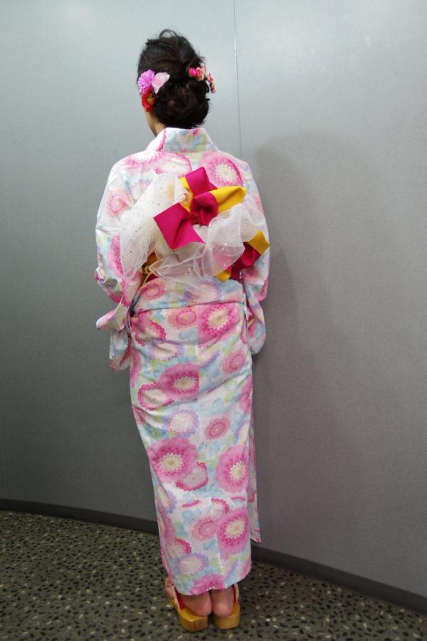 浴衣 レンタル着付の例(5)