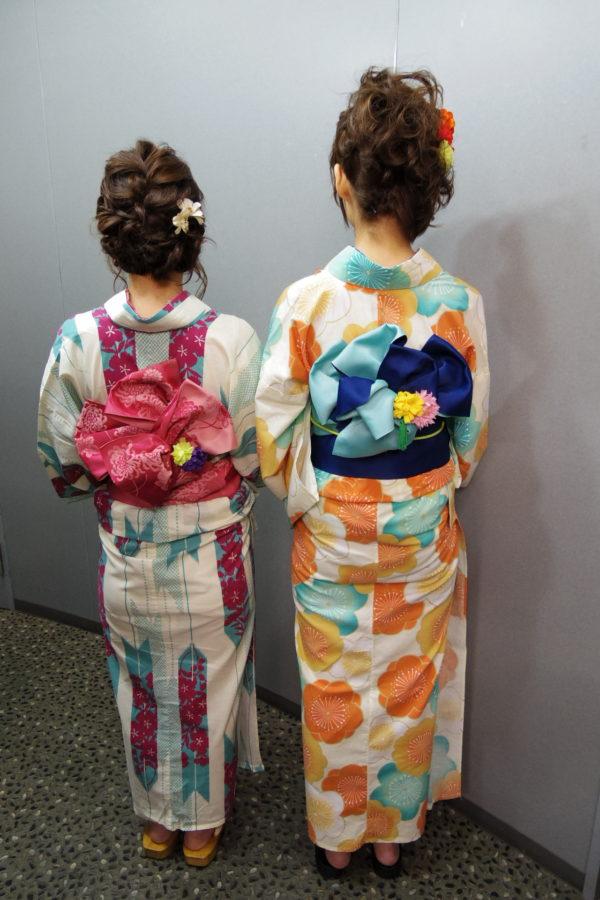 浴衣 レンタル着付の例(10)