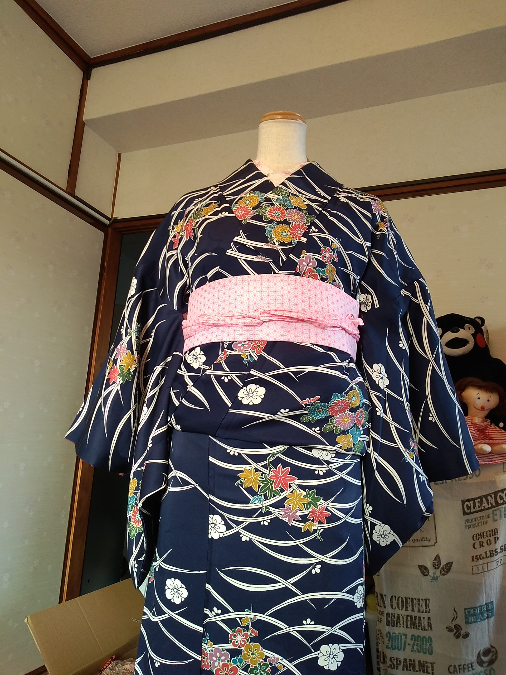お手軽 着物(4)
